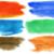 水彩画 · 手 · 描いた · セット · 孤立した - ストックフォト © taigi