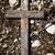 素朴な · 木製 · クロス · 白 · レンガの壁 · 木材 - ストックフォト © taigi