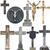 begraafplaats · oude · zwarte · raaf · kruis · achtergrond - stockfoto © taigi