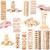 brinquedo · de · madeira · jogo · madeira · diversão · leitura · jogar - foto stock © taigi