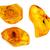 three pieces of amber stock photo © taigi