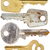 set of old keys stock photo © taigi