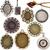 gyűjtemény · klasszikus · ékszerek · nagy · méret · izolált - stock fotó © taigi