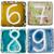 handmade ceramic numbers stock photo © taigi
