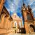velho · vermelho · tijolo · católico · igreja - foto stock © taigi