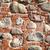 pierre · mur · de · briques · mur · mixte · matériaux · briques - photo stock © Taigi