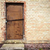 door in a yellow wall stock photo © taigi