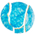 quebrado · azul · cerâmico · prato · isolado · branco - foto stock © taigi