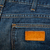 blue jeans fabric with pocket and label stock photo © taigi