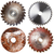 set of circular saw blades stock photo © taigi