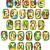colorful handmade of white clay alphabet stock photo © taigi