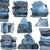 egymásra · pakolva · ruházat · izolált · fehér · háttér · űr - stock fotó © taigi