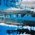 fekete · négyszögletes · tinta · keret · rendetlen · foltok - stock fotó © taigi