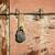 szürke · öreg · fém · ajtó · textúra · vasaló - stock fotó © taigi