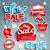 Winter sale background. stock photo © tandaV