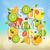 mektup · salata · örnek · arka · plan · sanat · eğitim - stok fotoğraf © tandav