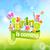 voorjaar · bokeh · opschrift · papier · stijl · vlinder - stockfoto © tandaV