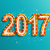 happy new year 2017 shining retro light stock photo © tandav