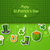 vintage · irlandés · bandera · anunciante · ilustración · horizontal - foto stock © tandav