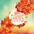 dar · obrigado · outono · colorido · folhas · quadro - foto stock © tandaV