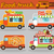 food truck vector illustrations stock photo © tandav