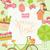 bonitinho · joaninha · folha · grama · feliz · verão - foto stock © tandav