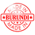Burundi · país · bandeira · mapa · forma · texto - foto stock © tang90246