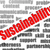 sustainability word cloud stock photo © tang90246