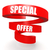 special offer red helix banner stock photo © tang90246