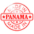 Panama · rouge · sceau · affaires · papier · design - photo stock © tang90246