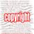 szerzői · jog · nagyító · fókuszált · szó · körül · szöveg - stock fotó © tang90246