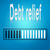 debt relief blue loading bar stock photo © tang90246