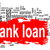 bank loan word cloud with red banner stock photo © tang90246