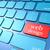 toetsenbord · Blauw · sleutel · website · hosting · geschreven - stockfoto © tang90246