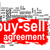 buy sell agreement word cloud with red banner stock photo © tang90246