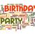 С · Днем · Рождения · слово · облако · вечеринка · счастливым · торт · рождения - Сток-фото © tang90246