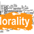 morality word cloud with yellow banner stock photo © tang90246