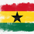 Flag of Ghana painted with brush stock photo © tang90246