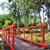 red bridge in chinese garden stock photo © tang90246