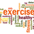 exercise word cloud stock photo © tang90246
