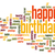 Happy birthday word cloud stock photo © tang90246