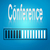 blue loading bar with conference word stock photo © tang90246