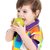 cute · bebé · nino · comer · manzana · cubierto - foto stock © tangducminh