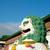 chinês · leão · estátua · viajar · arquitetura · poder - foto stock © tangducminh