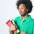 красивый · молодые · африканских · человека · рубашку - Сток-фото © tangducminh