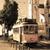 giallo · tram · stretta · strada · quartiere · Lisbona - foto d'archivio © tannjuska