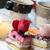 ウェディングケーキ · 装飾された · 赤いバラ · 花 · 食品 · パーティ - ストックフォト © tannjuska