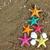 christmas · nieuwjaar · strand · creatieve · stijl · boom - stockfoto © tannjuska