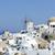 santorini · adası · küçük · beyaz · evler · sokaklarda · deniz - stok fotoğraf © tannjuska