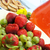 zomer · vruchten · dranken · aardbei · mand · vers · fruit - stockfoto © tannjuska